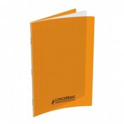 Cahier polypro 21X29.7 PP Orange 90G 96P Seyès