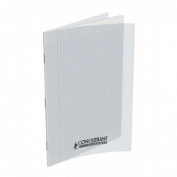 Cahier polypro 21X29.7 PP Incolore 90G 96P Seyès
