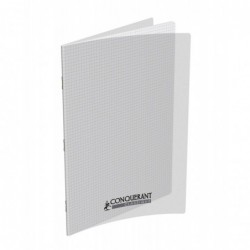 Cahier polypro 21X29.7 PP Incolore 90G 96P 5x5