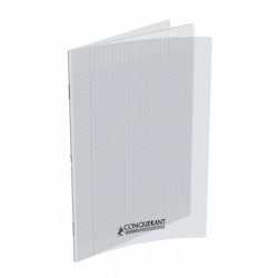 Cahier polypro 24X32 PP Incolore 90G 96P Seyès