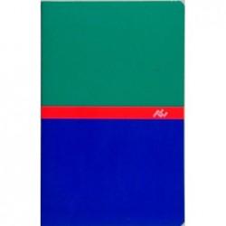 Carnet reliure piqûre 9x14 cm 96 pages Petits Carreaux