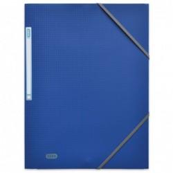 Chemise Polypro MEMPHIS à rabats et élastiques 24 x 32 bleu