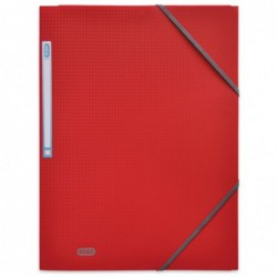 Chemise Polypro MEMPHIS à rabats et élastiques 24 x 32 rouge