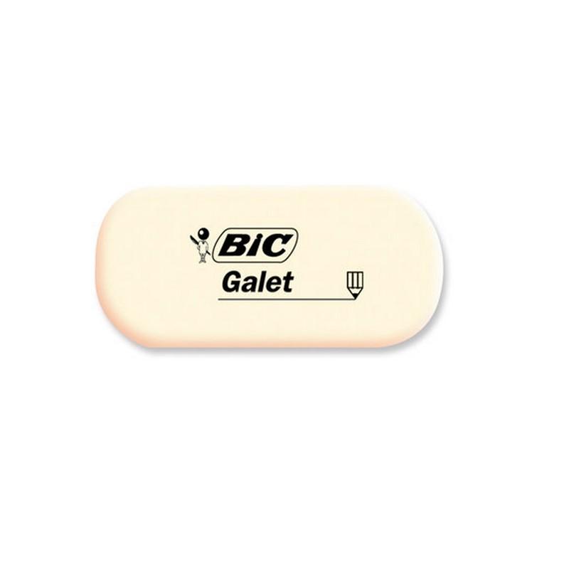 TIPP EX Gomme blanche caoutchouc ovale GALET