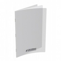 Cahier polypro 24X32 PP Incolore 90G 48P 5x5