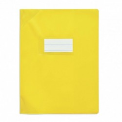Protège-cahier 17x22cm Jaune