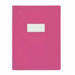 Protège-cahier 17x22cm Violet