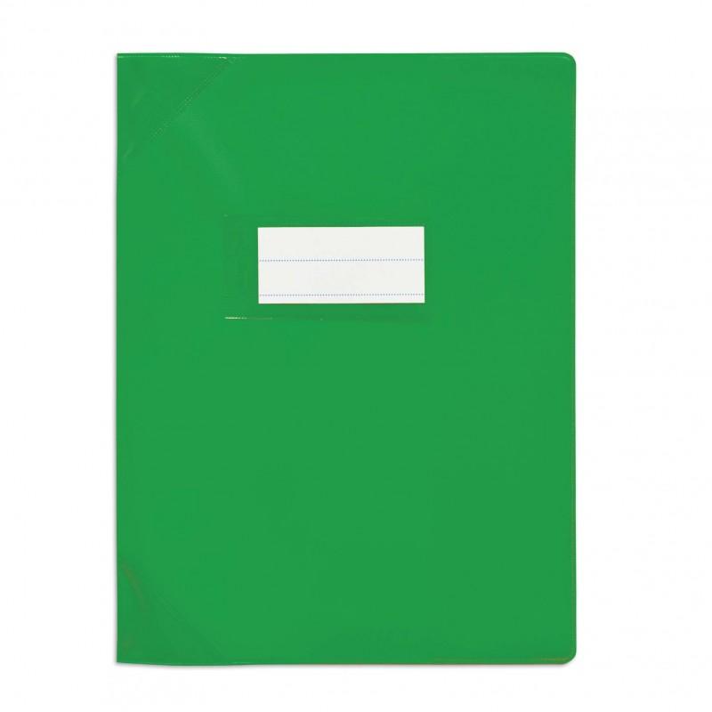 Protège-cahier 17x22cm Vert