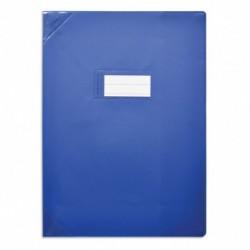 Protège-cahier 24x32cm Bleu