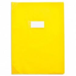 Protège-cahier 24x32cm Jaune