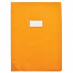 Protège-cahier 24x32cm Orange