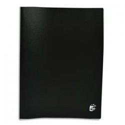 Protège-documents en polypropylène 80 vues noir