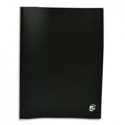 Protège-documents en polypropylène 120 vues noir