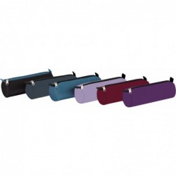 Fourre tout rond -22xD7-ASS bleu marine/bleu ciel//violet/rouge