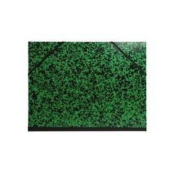 Exacompta  Carton à dessin Annonay avec élastiques 26x33 cm - Pour formats A4 et 24x32 cm Vert
