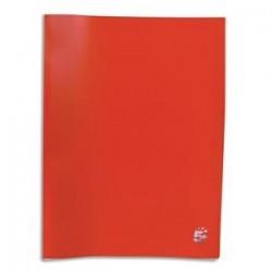 Protège-documents en polypropylène 100 vues rouge