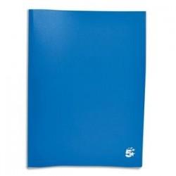 Protège-documents en polypropylène 80 vues bleu