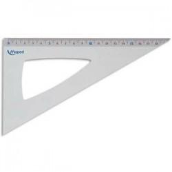 MAPED equerre 60° 21cm en aluminium