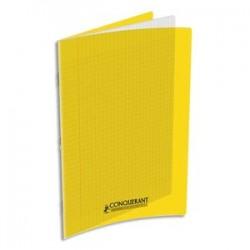 Cahier polypro jaune...