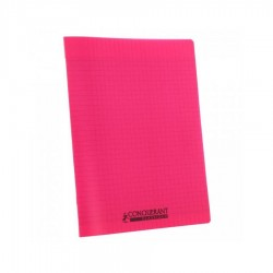 Cahier polypro  17X22 grand...