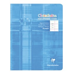 Cahier Polypro 17x22  32...