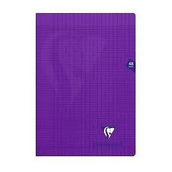 Cahier polypro violet...