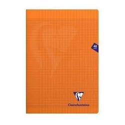 Cahier polypro orange 48...