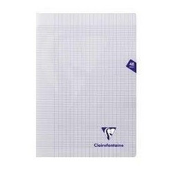 Cahier polypro incolore...