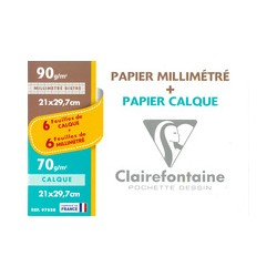 Clairefontaine pochette...