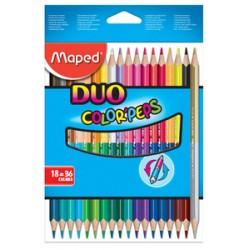 Maped Crayons bicolores...